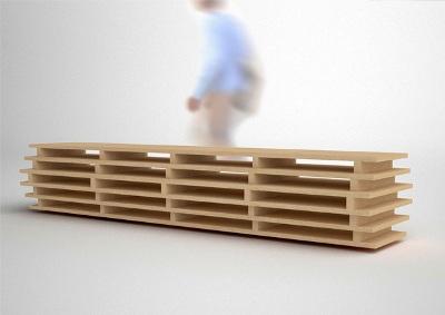 office design, logerot side bookcase